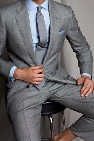 2016 Newest Gray Groom Tuxedos 2 Pieces Mens Wedding Party Prom Party Suits For Women