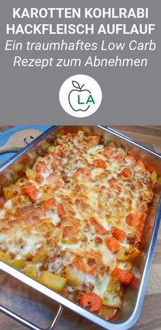 This minced casserole is made fast, low carb and low in calories. Here f ...