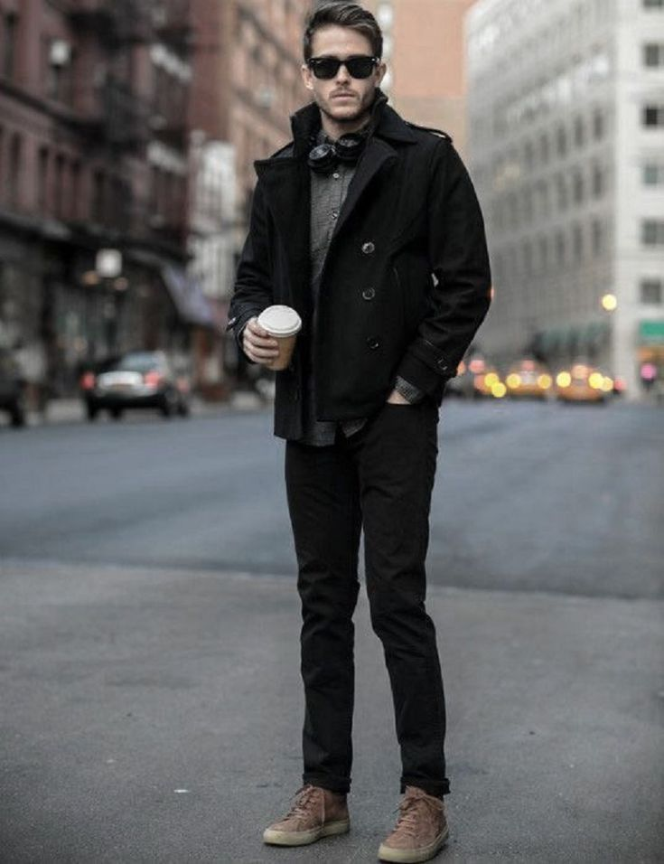 8 Cool Winter Outfits with Jeans for Men - Men Jeans - Ideas of Men Jeans #menje...