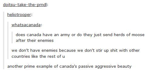 23 hilarious Tumblr posts show how weird Canada really is - #canadian # ...