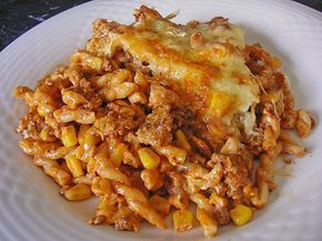 Ingredients 250 g noodles 300 g minced meat 200 g cream cheese with ...