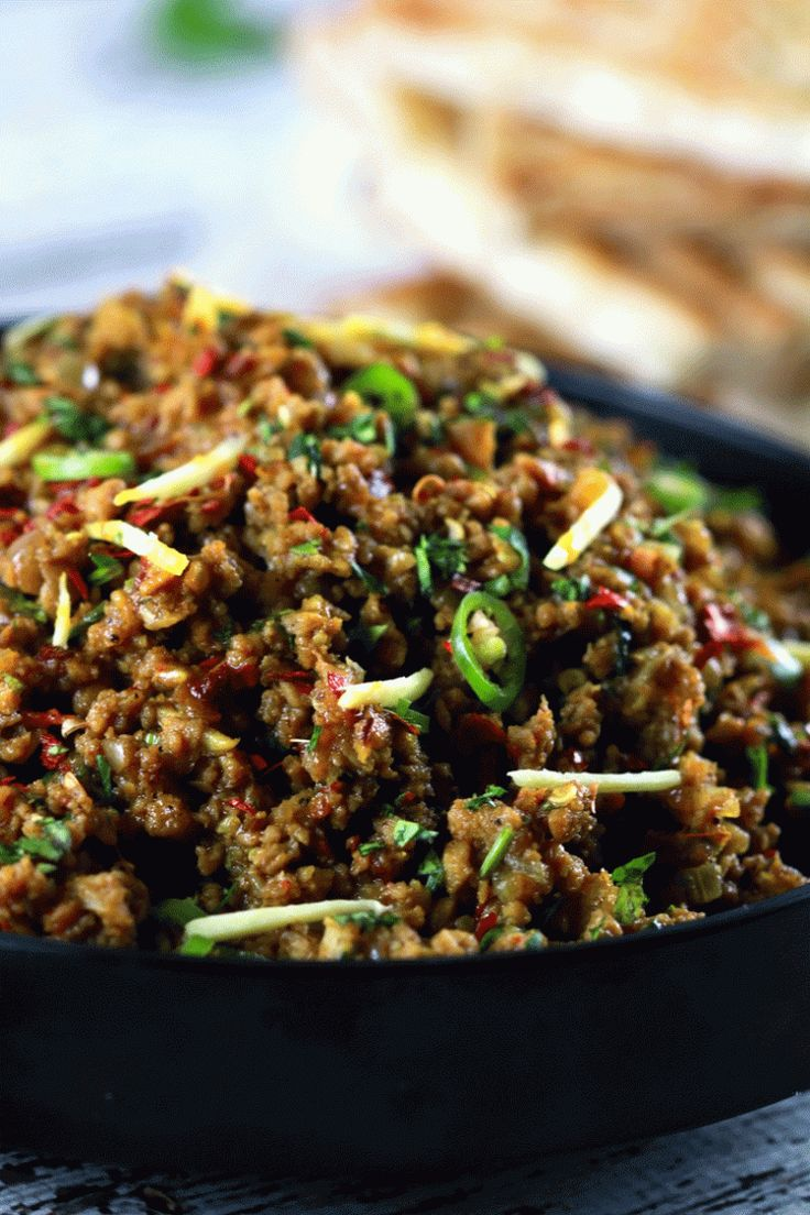 Authentic Indian Minced Meat Qeema - This authentic Indian minced meat Qeema rec...