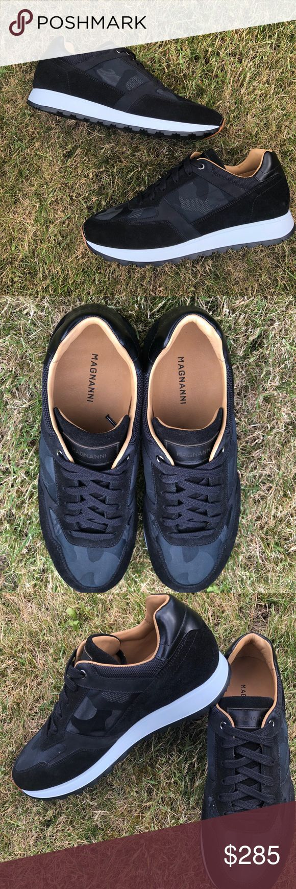 Magnanni Camo Sneaker- Men size 8 Sporty, vintage inspired sneakers- must have! ...