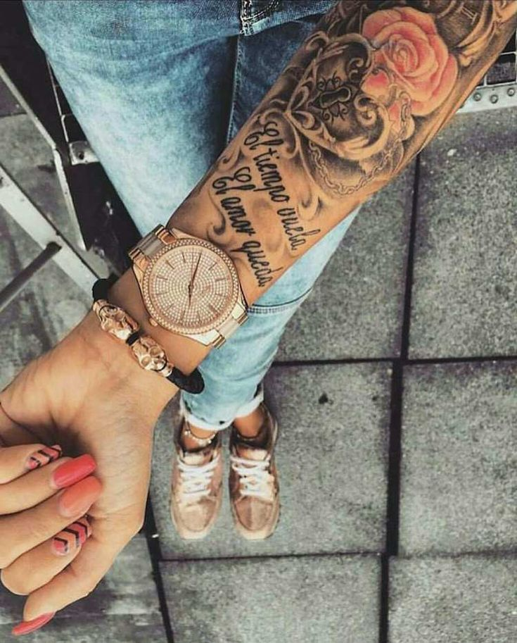 Tattoo swag forearm or cuff ideas for men and women