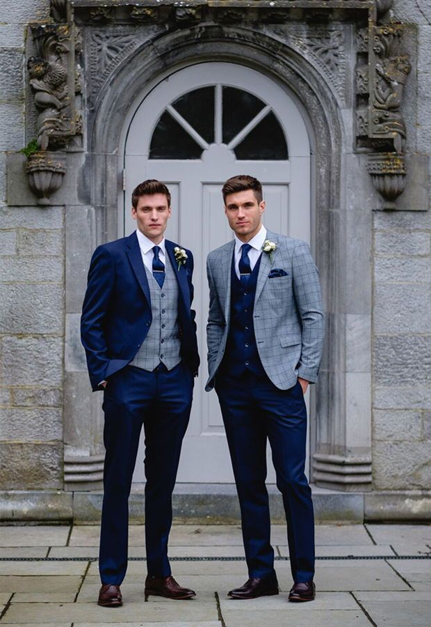 Benetti Menswear Mix and Match Collection, groomsmen, groom suits, groomsmen sui...