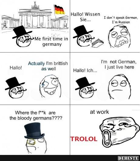 For the first time in Germany | Funny pictures, sayings, jokes, really funny