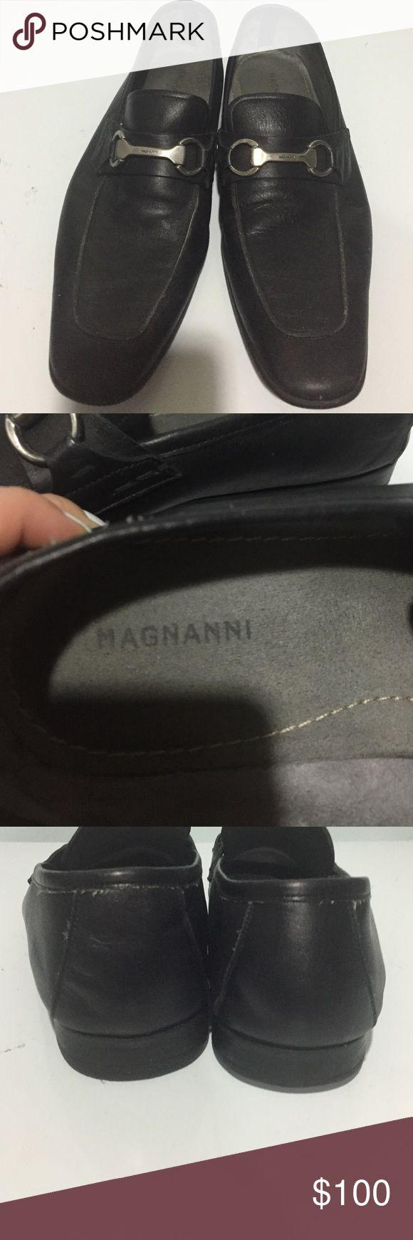 Magnanni Men shoes Magnanni made in Spain very soft leather Magnanni Shoes Loafe...