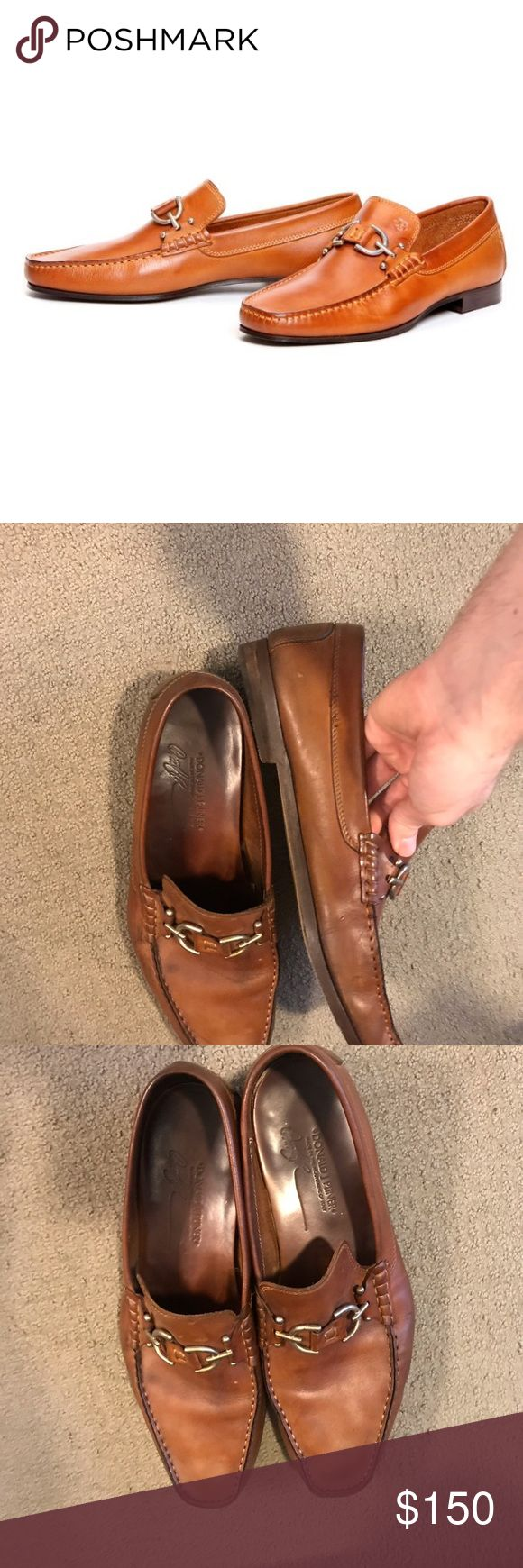 Donald J. Pliner Loafers. Gently used. Still in great condition.   Please excerc...
