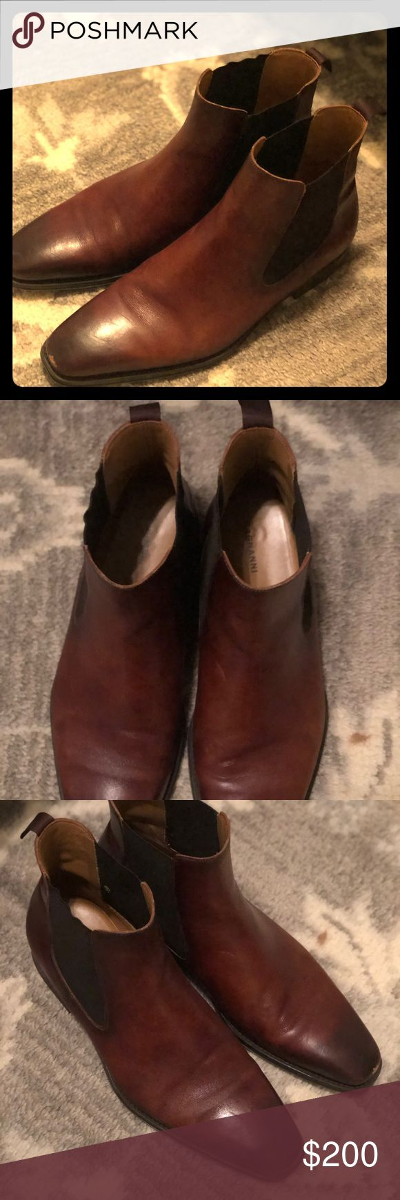 Magnanni men's size 12 Sean Chelsea Boots Magnanni Sean Chelsea boots in great...