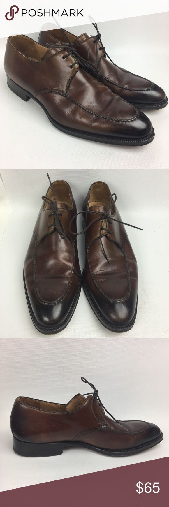 MAGNANNI Sz 9 Dress Oxfords Shoes Men's Pre owned, good used condition, some s...
