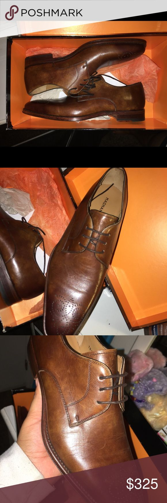 Magnanni men's shoe BRAND NEW WITH BOX!! Never been worn only tried on .  Goin...