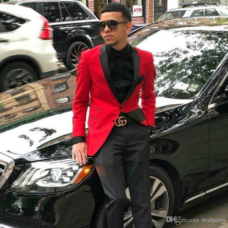 Latest Designs Red Mens Groom Wedding Suits Man Blazers Prom Party Bridegroom Bl...