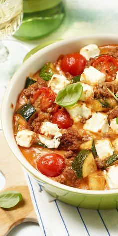 Casserole also tastes great in the summer - especially if you like juicy tomatoes with ...