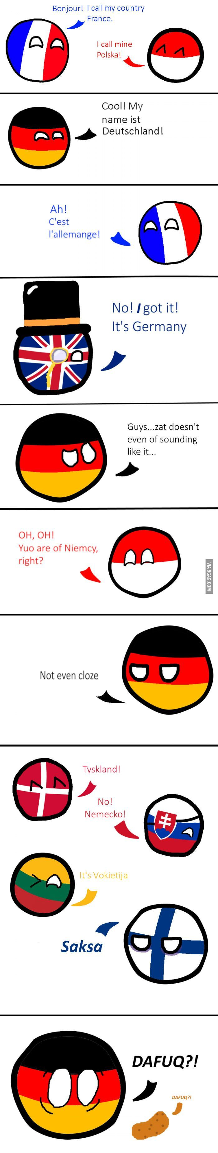 Germany and its names ... - #Germany #Names # its #and