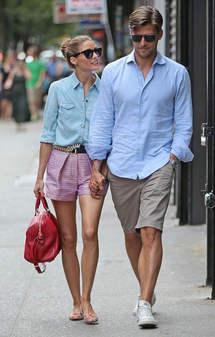 July 24, 2013 Olivia Palermo and husband Johannes Huebl are seen in New York Cit...