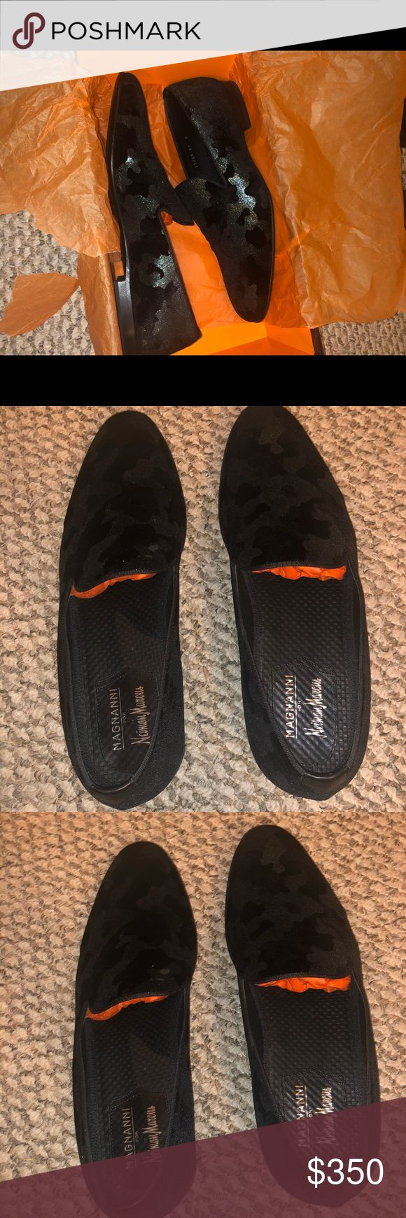Designer Loafers Magnanni by Neiman Marcus, Worn once, still in amazing conditio...