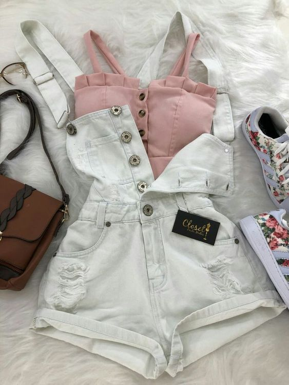 32 charming lady outfits # outfits #teenager # girl # school # school # spring # 2 ...