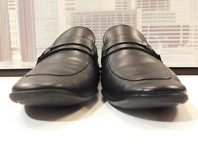 Men's Magnanni Black Band Loafers Size 11 M #fashion #clothing #shoes #accessori...
