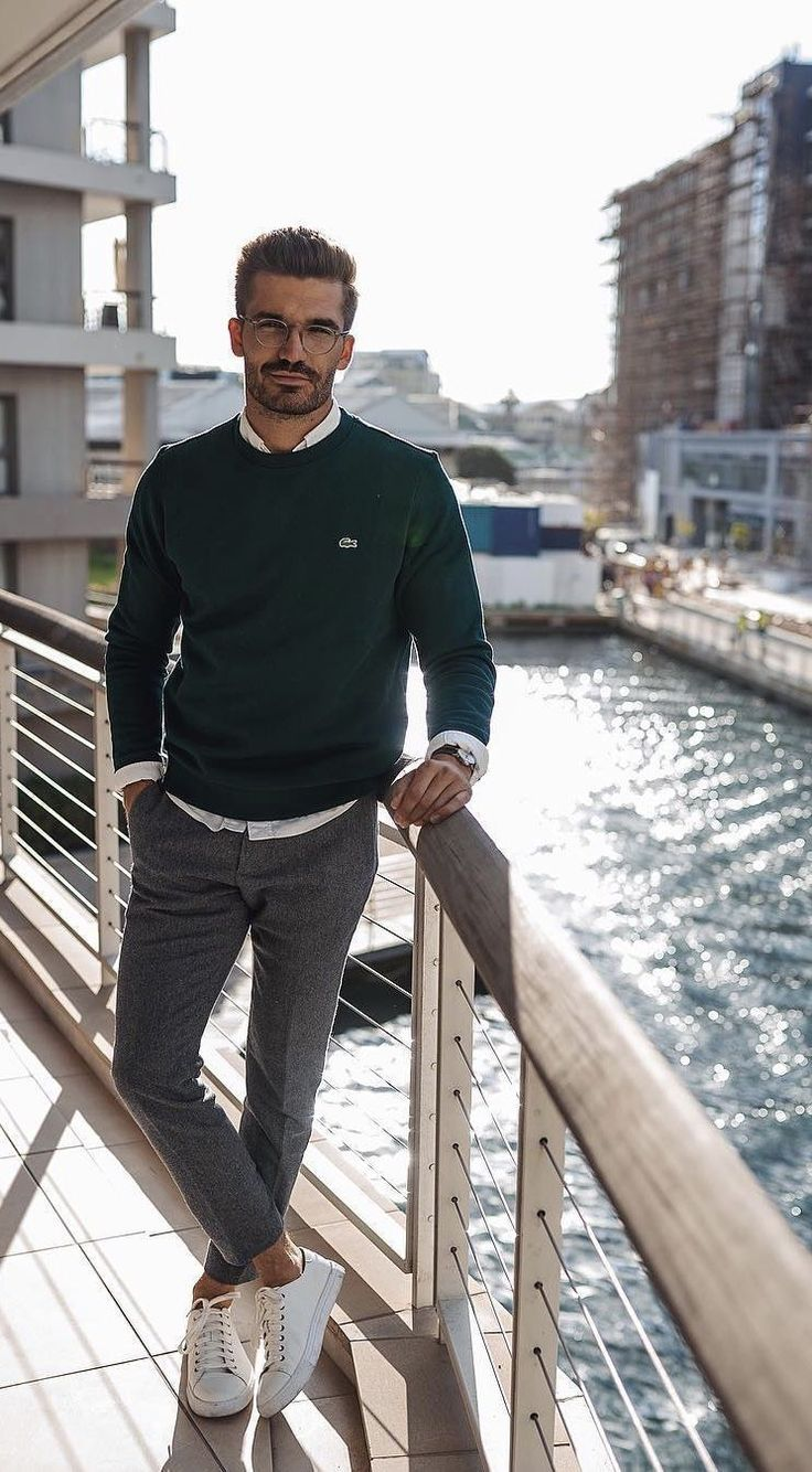 Business casual outfits for men that you can wear everyday in winter ...