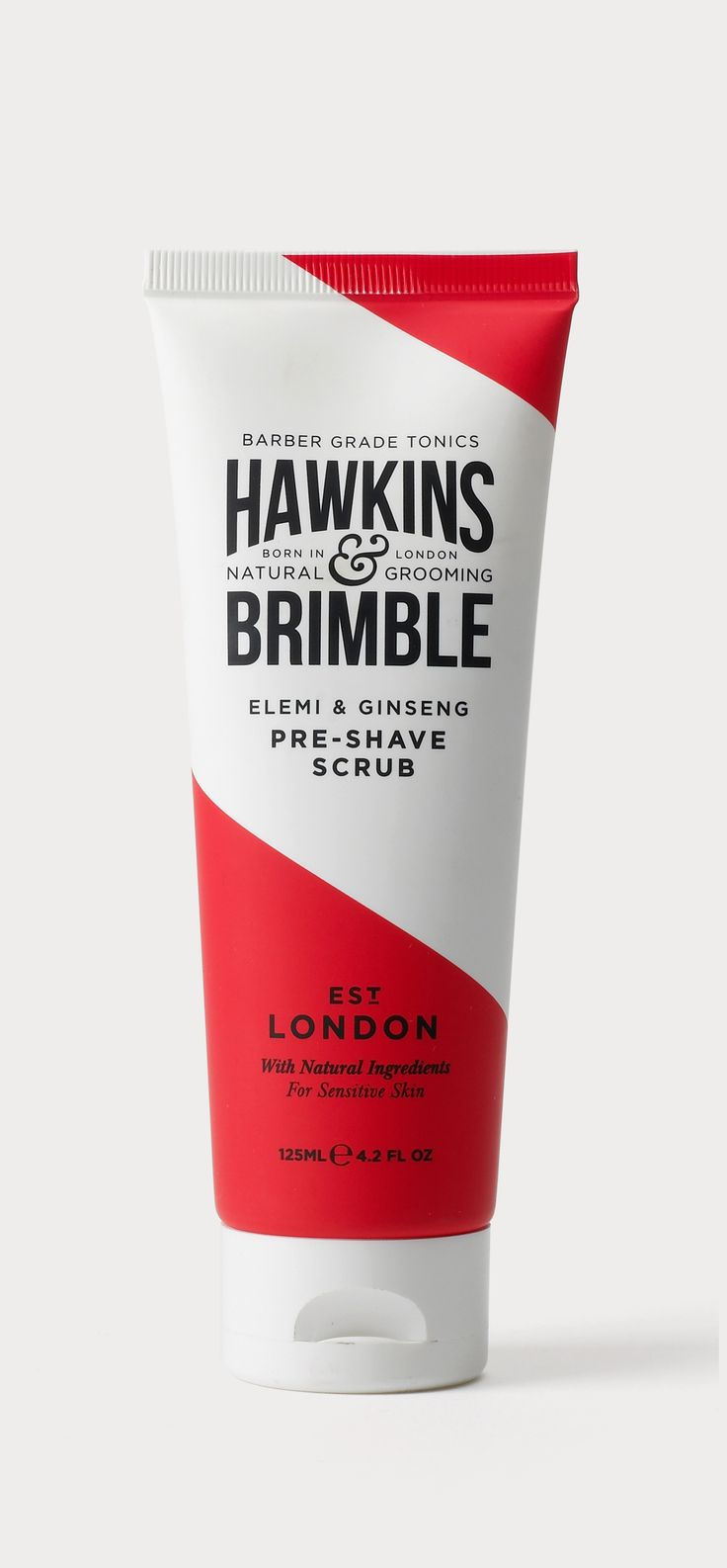 Brand identity and packaging design for Hawkins and Brimble. The brief was to de...