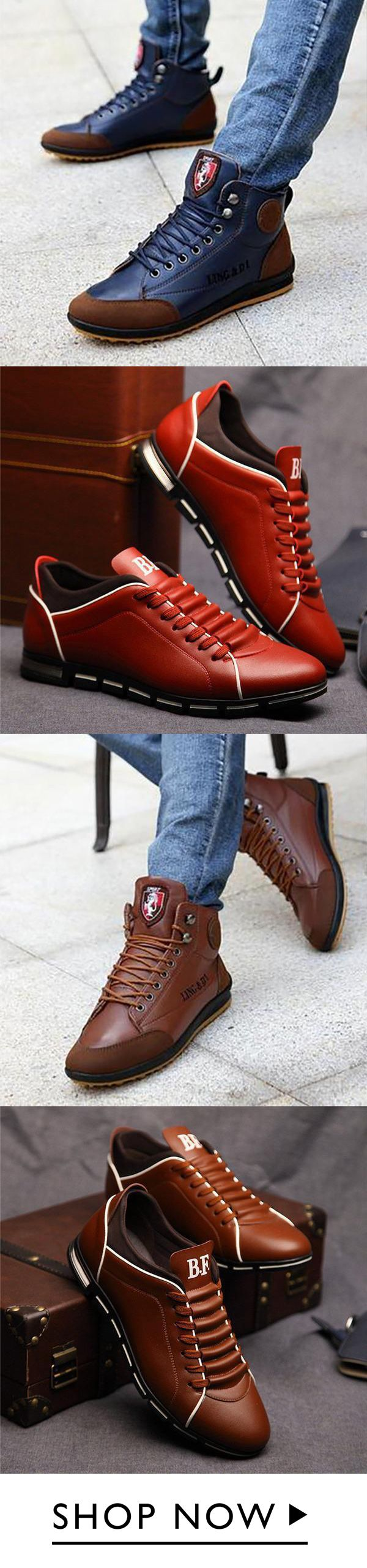 Casual Comfort Flat Lace-Up Shoes
