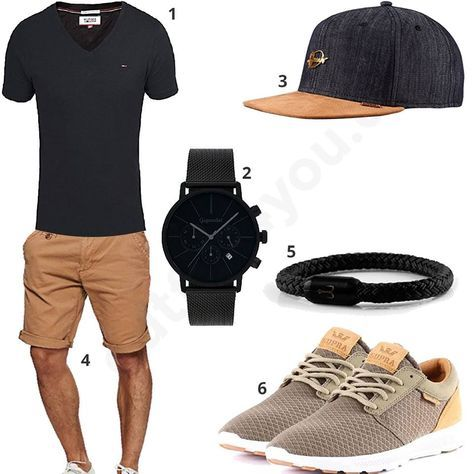 Cool styling for men, especially the bracelets, I think great! Geanu the ...