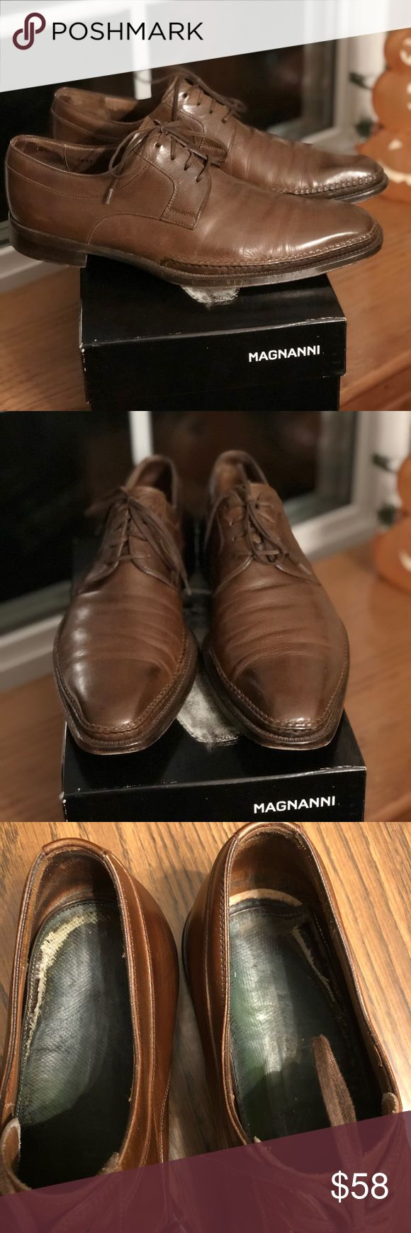 Magnanni Men's Shoe Men's shoe by Magnanni Made in Spain  Size 9 1/2m This s...