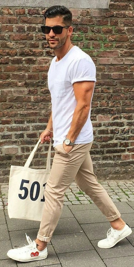 36 Men's Chinos Outfit for Cool Casual Style #casual #chinos #coolen #herre ...