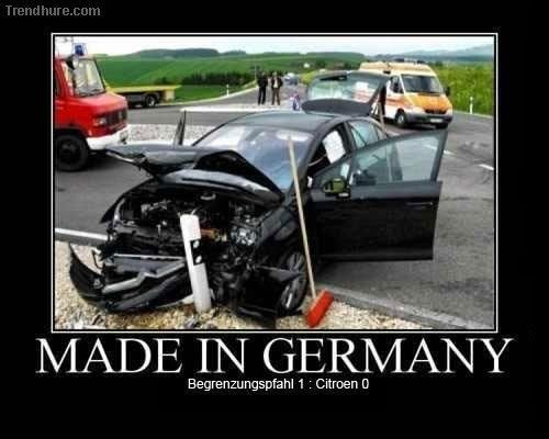 Made in Germany - Win quality A joke meme funny quotes humor funny picture