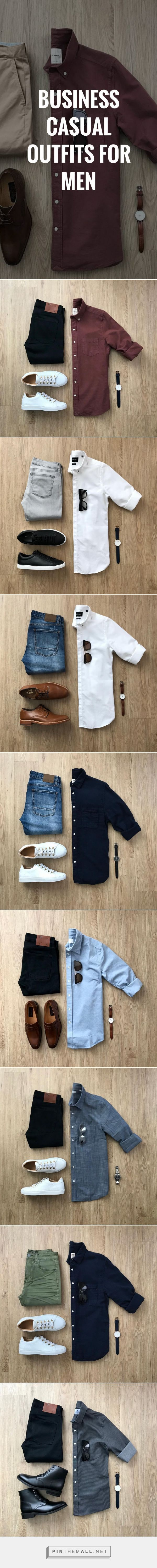 How to wear business casual outfits for men. Everything you need to know about b...