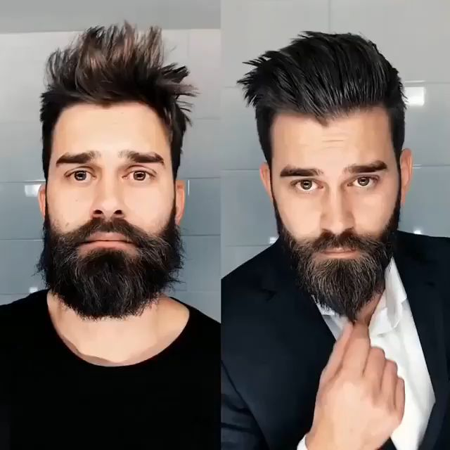 How to make your #beard ready to go out ЪћЦЪЉіЪЦЃРџћ№ИЈРађ