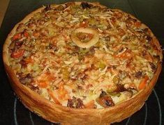Minced meat sour cream cake 3