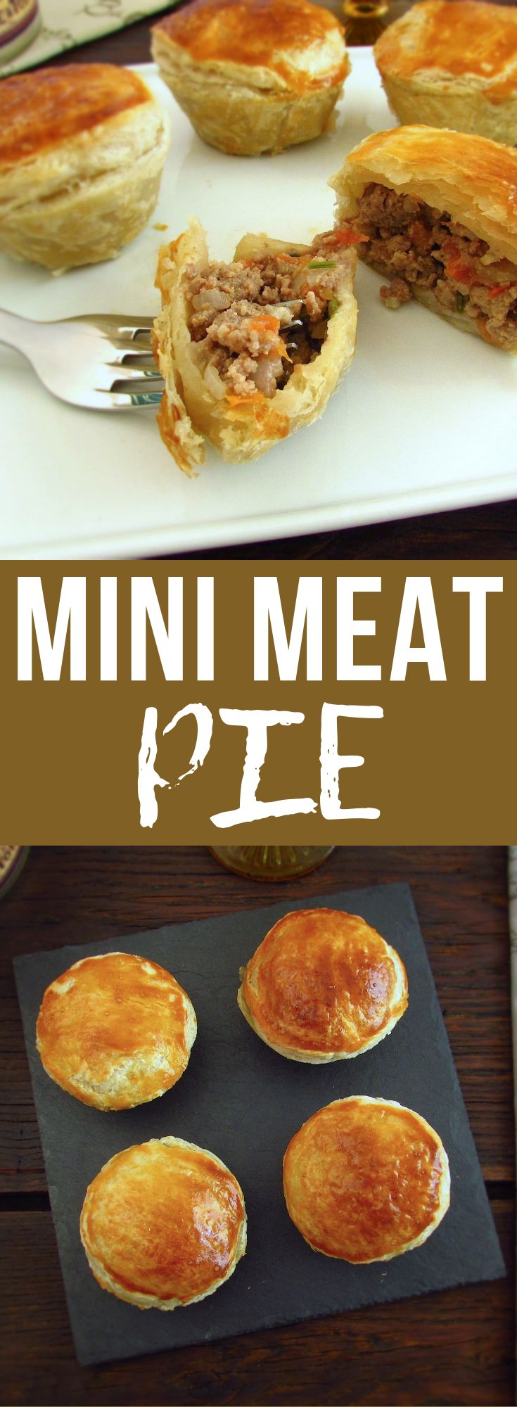 Mini meat pie | Food From Portugal