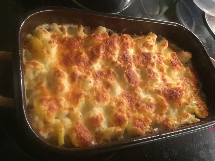 Cauliflower bake with minced meat, a refined recipe from the cheese category ...
