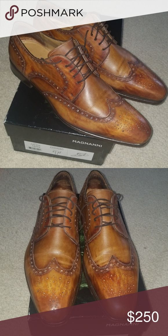 Magnanni Felipe oxford shoes Stylish lace-up shoes in very good condition Magnan...