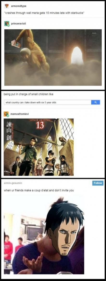 47 Trendy Funny Anime Memes Attack On Titan Posts