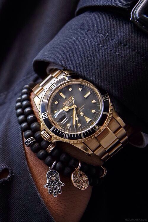 Who would have thought that a golden Rolex could be so casual? | Jeweler Haeg ...