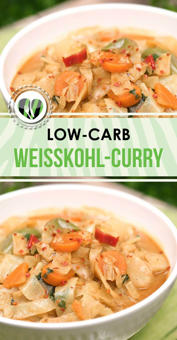 The white cabbage curry is lowcarb, gluten-free and tastes great. In addition ...