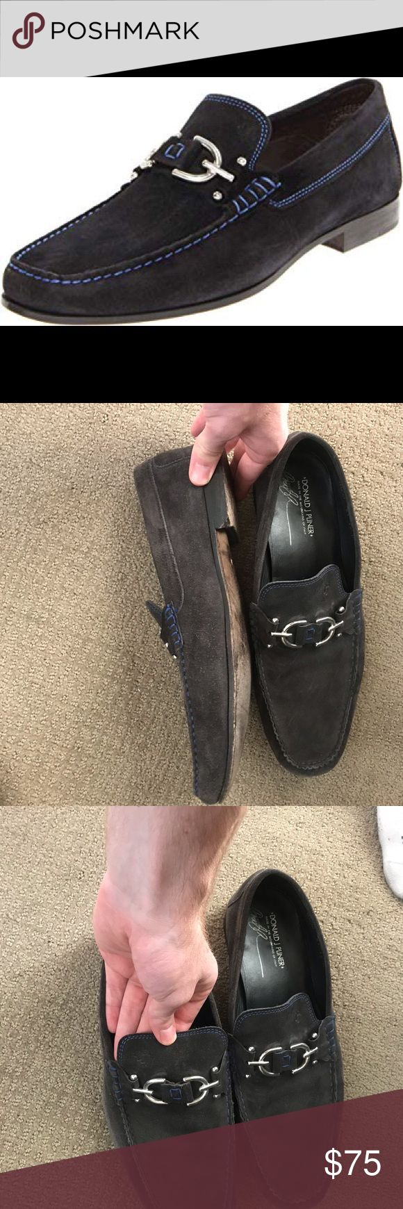 Donald Pliner Loafers Gently used. Still in great condition.   Please excercise ...
