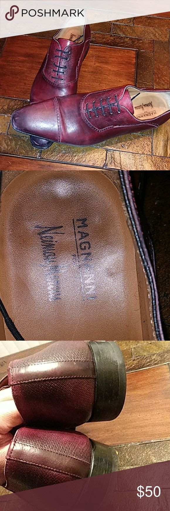 Magnanni Good condition ( burgundy color) Magnanni Shoes Loafers & Slip-Ons