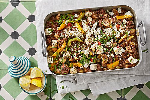 Turkish Mince - Casserole with Sheep Cheese (Recipe with Image)   Chefkoch.d ...