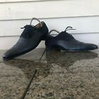 Magnanni for Neiman Marcus Sz 9.5 M Navy Leather Perf Toe Oxford Men's Shoes #Ca...