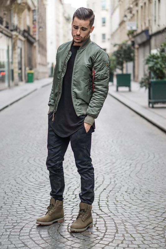 Best Men's Bomber Jackets Collection For This Fall 2018 6. Click image to see mo...