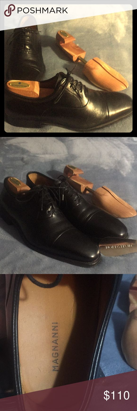 "Magnanni ""Federico"" men's size 9D. These shoes have been very lightly worn..."