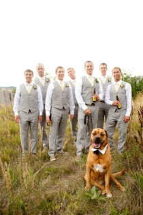Emily Schoenfeld Bailey picture idea for Liam and grooms men.  Do something simi...