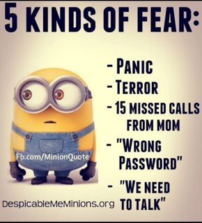 Minion memes & quotes - Fear - Page 1 - Wattpad