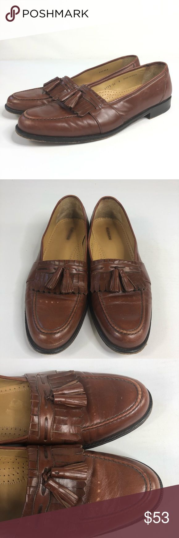 Magnanni Mens tassel loafers size 14B Great condition message for more details M...