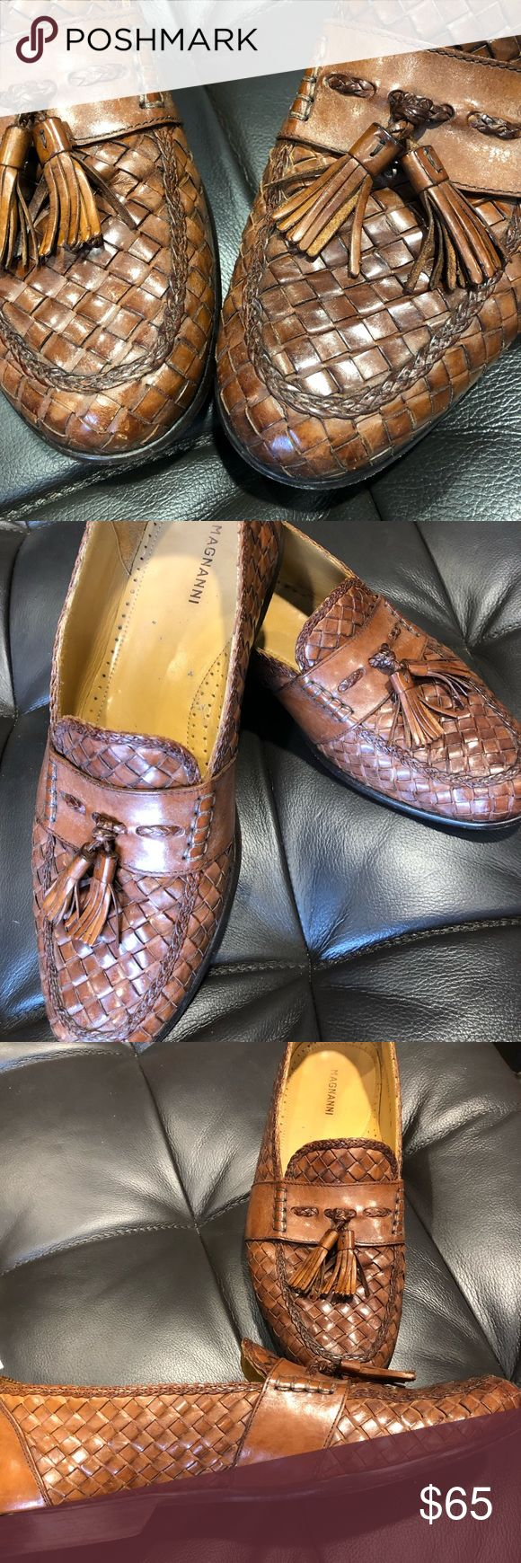 Magnanni men's loafers size 11 Italian made, great shape and very comfortable....