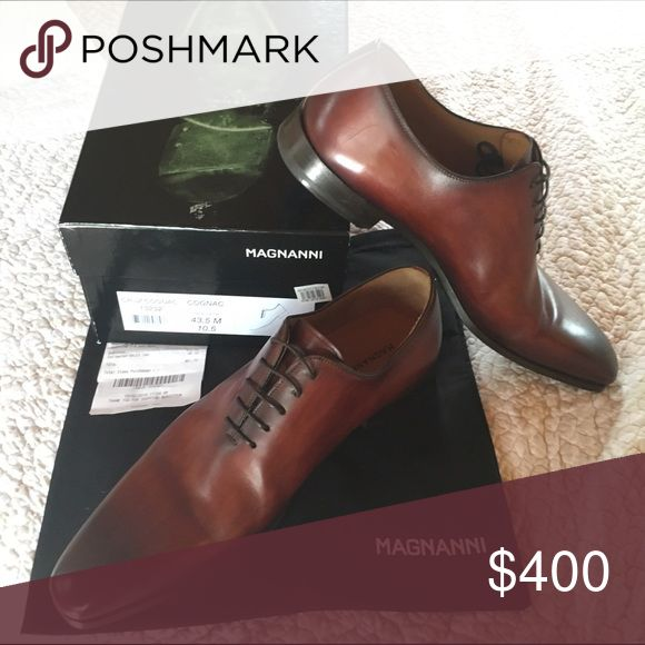 Magnanni men's Bought @ Nordstoms for $460. Worn one evening only. A few sma...