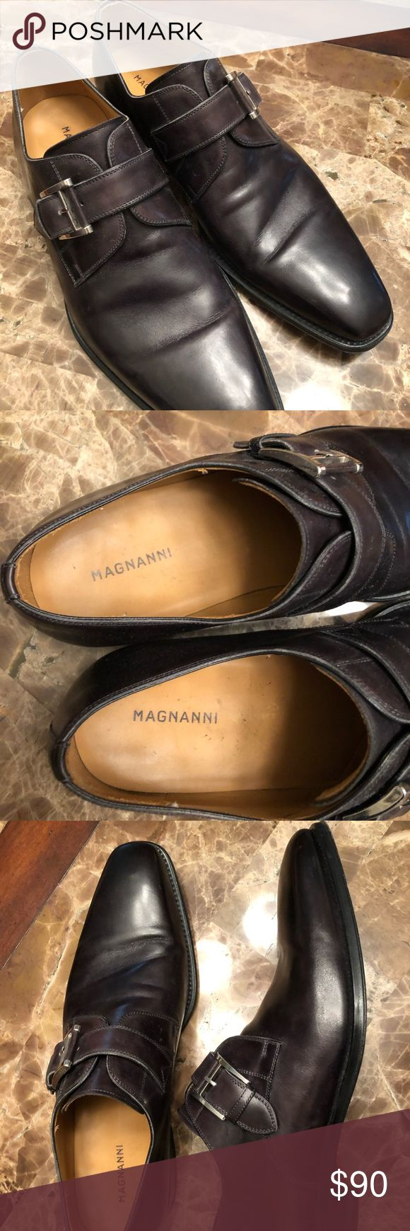 Magnanni Marco Monk Strap Loafer Gently used, only worn a handful of times. Grea...